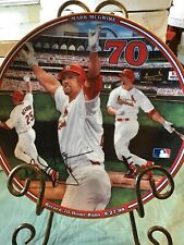 """""""Mark McGwire Record 70 Home Runs  """" From The Bradford Exchange Collection"""
