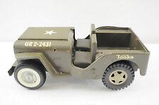 Vintage Tonka Jeep Army Jeep
