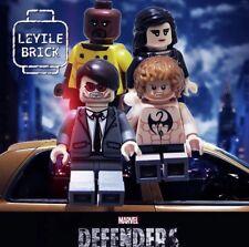 **NEW** LYL BRICK Custom Daredevil Lego Minifigure, Pad Print