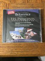 Britannica US Presidents PC Cd