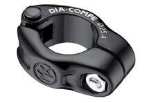 Dia-Compe MX1500N 1Bolt SeatClamps 25.4mm suit 22.2mm Post-Old School BMX Black