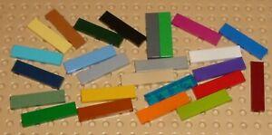 LEGO - TILE 1 x 4, Part 2431, Choose Colour & Qty - T3