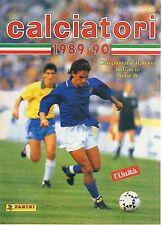 ALBUM CALCIATORI RISTAMPA L'UNITA' ANNO 1989-90