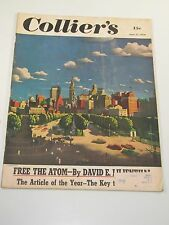 Collier's Magazine- Free The Atom- June 17, 1950