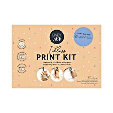 Babyink Baby Ink Blue Inkless Printing Kit Hand and Footprints Keepsake