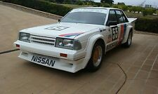 NISSAN BLUEBIRD GEORGE FURY LOOK BODYKIT AND RACE DECAL GROUP C KIT