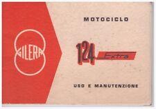Handbuch Anleitung Nutzung und Haltung Gilera 124 Extra Ausgabe 01/1967