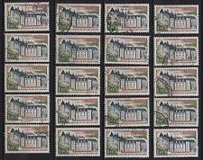 P10* Timbres France Oblitérés x20 (1974) (n°1809 ROCHECHOUART)