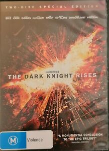 The Dark Knight Rises (DVD, 2012, 2-Disc Set)