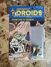 Yoda 1985 DROIDS Series STAR WARS Custom Made Card MOC