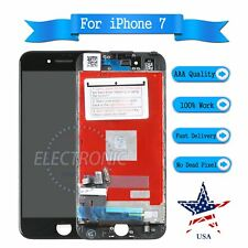 """LCD Touch Screen Digitizer Display Black Assembly Replacement For iPhone 7 4.7"""""""