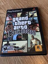 Grand Theft Auto: San Andreas (Sony PlayStation 2, 2005) PS2 NB1