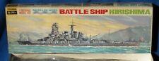Vintage Fujimi 1/700 Kirishima Battleship Model Kit New Sealed Box