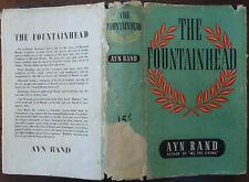 The Fountainhead - Ayn Rand - 1947 - 1st UK Edition - Hardcover + Jacket