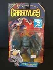 Kenner Gargoyles Stone Camo Broadway w/ Battle Axe 1995 Vintage Factory Sealed