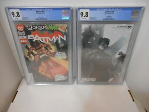 Batman #96 A and B Covers 1st Appearance of Clown Hunter CGC 9.8
