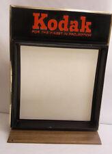 Vintage Kodak Store Counter Advertising Display Giant Slide & Projection Screen