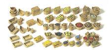 Preiser 17502 Baskets Fruit Vegetables (loose) Kit H0