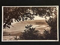 Vintage Postcard - Isle Of Wight #37 - RP Sandown, View From Cliff Path