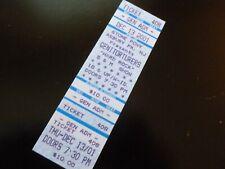 Genitorturers Hard Rock S&M Show 2001 Concert Ticket Stub Stone Pony NJ