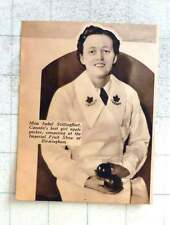1937 Miss Isabel Stillingfleet, Canada's Best Girl Apple Packer