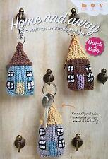 KNITTING PATTERN House Keyring Home Key Fob New Home DK Yarn PATTERN