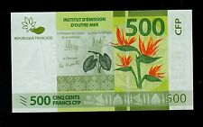FRENCH PACIFIC TERRITORIES 500 FRANCS ( 2014 ) PICK # 5  UNC.