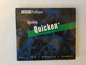 Video Professor: Learn Quicken 1998  Complete 3 Cd Set  BRAND NEW CD-Rom