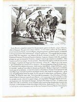 "1825 ""Saint Martin Eveque de Tours"" San Martino /Szombathely-Candes-Saint-Martin"