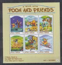 B428. Antigua & Barbuda - MNH - Cartoons - Disney's - Pooh and Friends