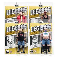 Legends of Professional Wrestling Series 1 Action Figures: Set of all 4