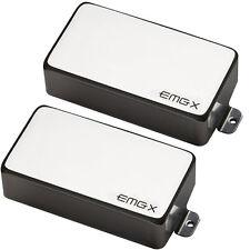 EMG 81X / 60X Humbucker Pickup set - chrome active NEW free shipping