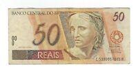 50 Reais Brasilien 2003 C319 / P.246l -  Brazil Banknote