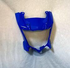 """Yamaha WR 125 X  """"Lampenverkleidung in blau ohne Aufkleber"""""""