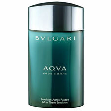 Bvlgari Aqua Parfums 3.4 oz 100 ml After Shave Emulsion for Men Brand New Boxed