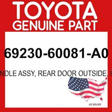 TOYOTA GENUINE 69230-60081-A0 HANDLE ASSY, REAR DOOR OUTSIDE, RH OEM