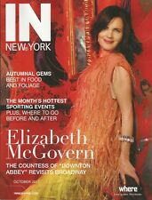 ELIZABETH McGOVERN the countess of DOWNTON ABBEY cover story IN NEW YORK 2017