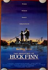 HUCK FINN ~ Original (1993) 27x40 Movie Poster DISNEY! ~ ROLLED VF-NM CONDITION!