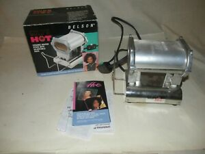 Belson Gold 'N Hot Ceramic Heater Stove With Adjustable Rack Preowned Works