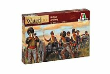 Infantry Model Building Kit Italeri British Artillery - Waterloo 200 Years 1 72