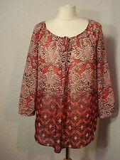 BNWOT Wallis black & red chiffon top/blouse S (10-12)