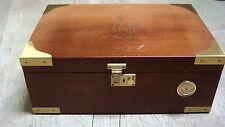 Grande cave / boite/ coffre à cigare HAVANA CLUB bois