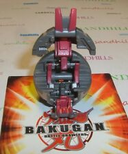 Bakugan Scraper Gray Subterra Maxus Helios 660G & cards