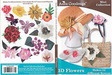 Anita Goodesign 3D Flowers Embroidery Machine Design CD NEW 101MAGHD