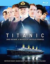 Titanic (Blu-ray Disc, 2012, 2-Disc Set) BRAND NEW AND SEALED !