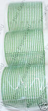 Hair FX Self Gripping 60mm Green Rollers (6)
