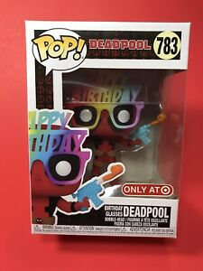 Funko Pop! Deadpool Nerdy 30 Years / 783 / Birthday Glasses / Target Exclusive