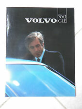 Volvo 760 GLE 1982 - catalogue brochure dépliant prospekt catalog