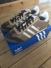 Adidas Rom UK9.5 9 1/2 EE5747 Raw Desert Brown Gum Originals City Series Shoe