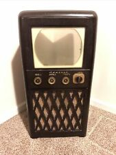 Vintage 1940's Admiral 24A12 Bakelite Tv 32� Tall Large Cabinet Only